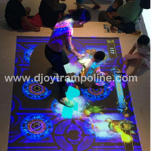 DJIP01 Trampoline new game interactive projection